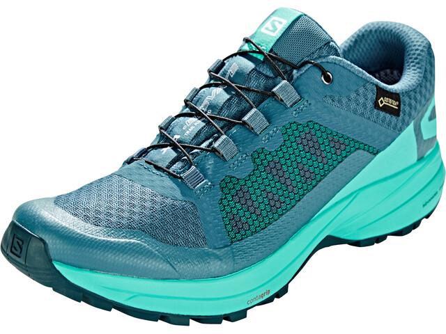 Salomon XA Elevate GTX Shoes Damen mallard blue/atlantis/reflecting pond